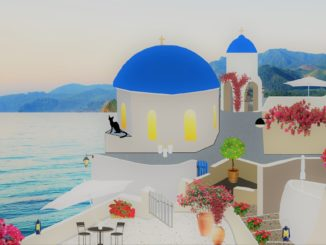 Santorini introduced by Stéphane Demazure